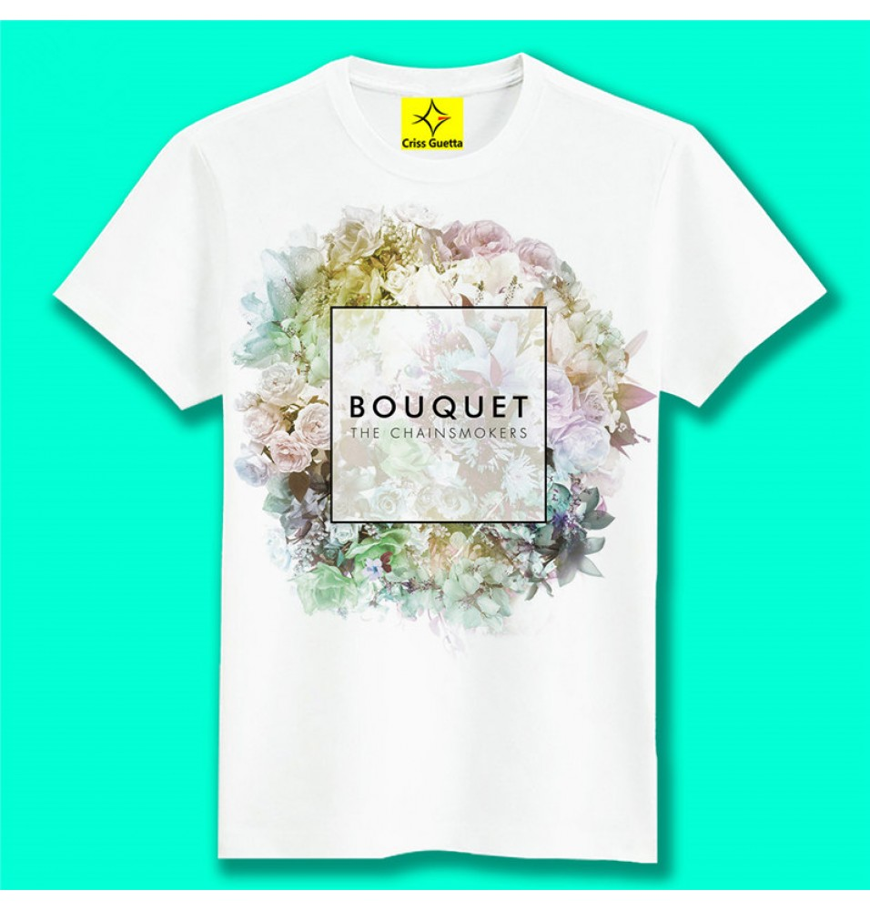 Timecosplay Alan Walker Faded BOUQUET Men Short Sleeve Tee Shirts