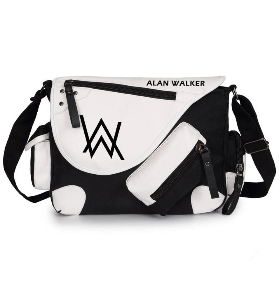Timecosplay Alan Walker Faded Messenger Bag Backpack Schoolbag
