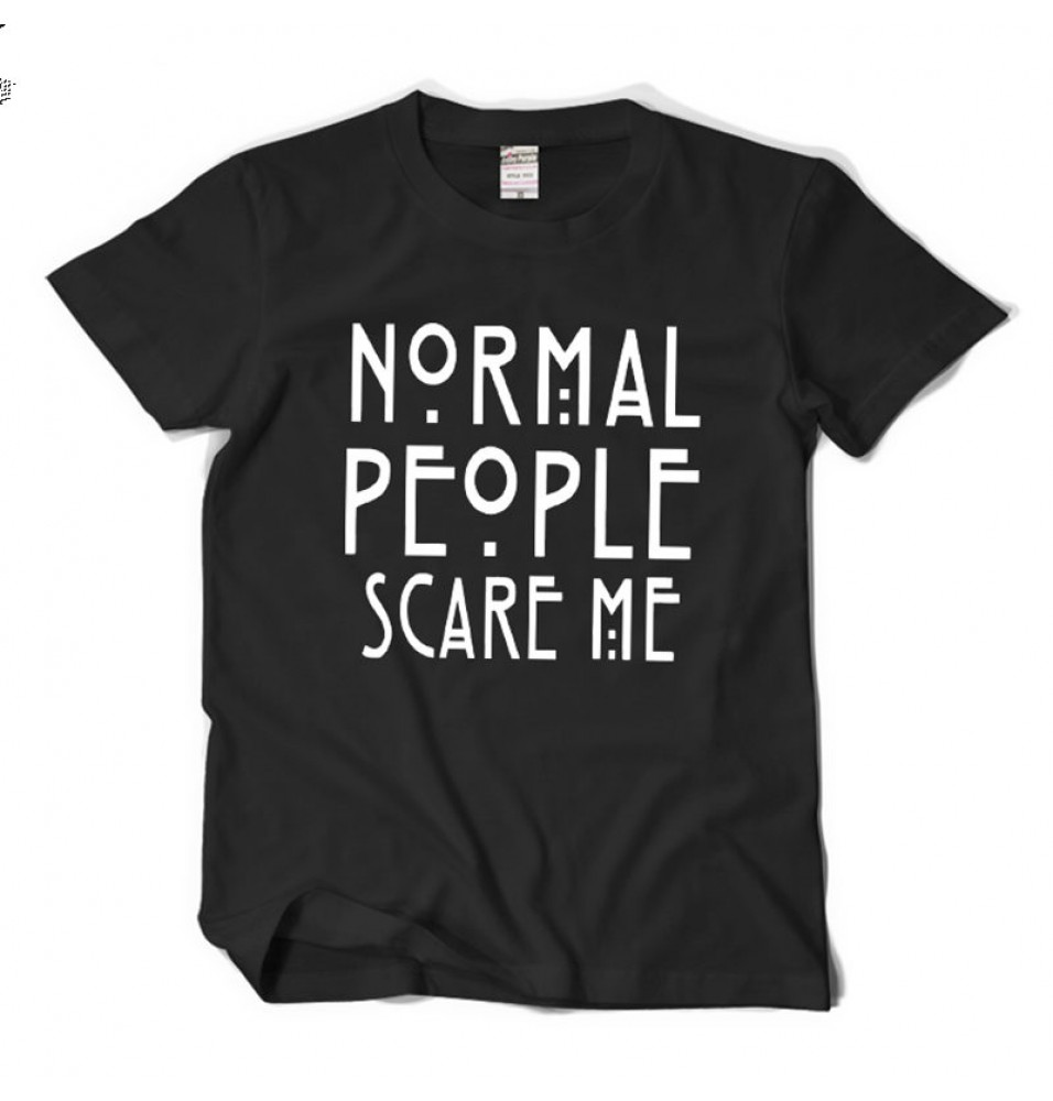 Timecosplay American Horror Story Normal People Scare Me Tee Shirts