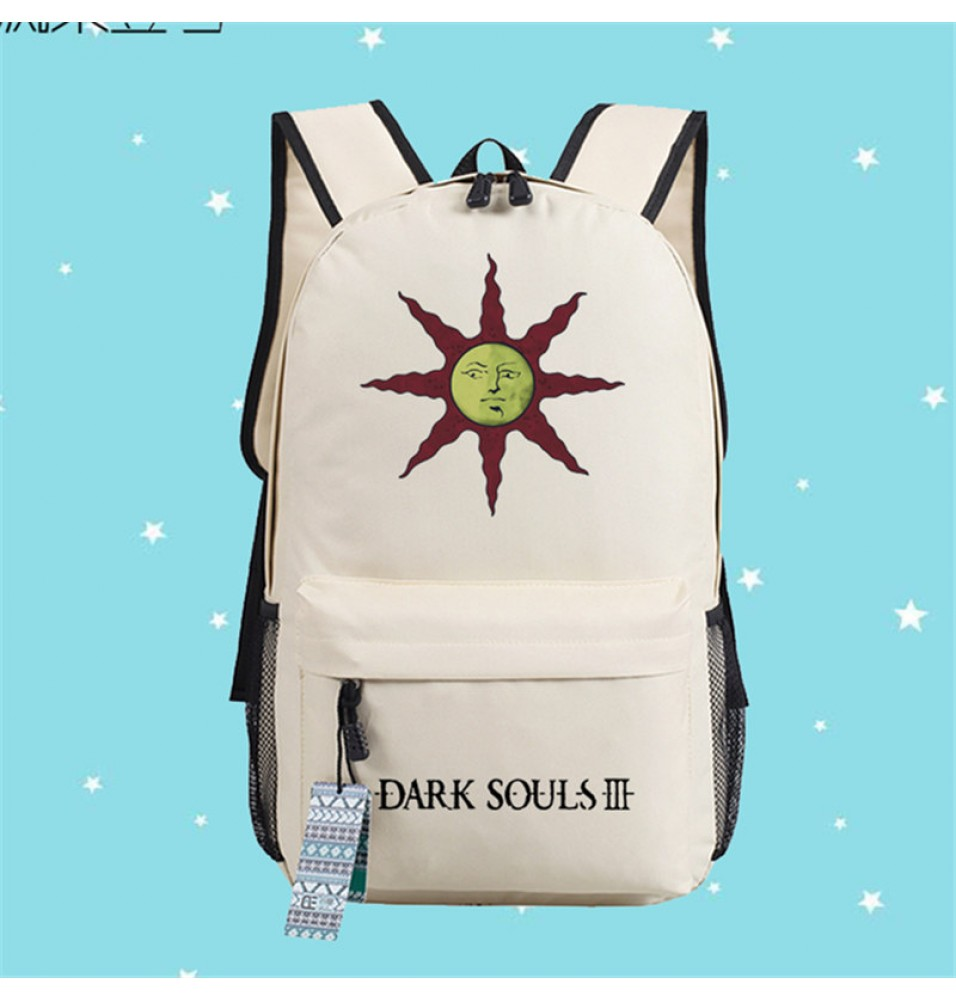 Timecosplay Dark Souls 3 Backpack Sun Logo Shoulders Bag Schoolbag