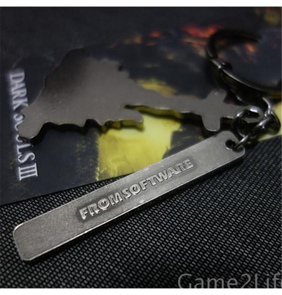 Timecosplay Dark Souls 3 logo Metal Keychain