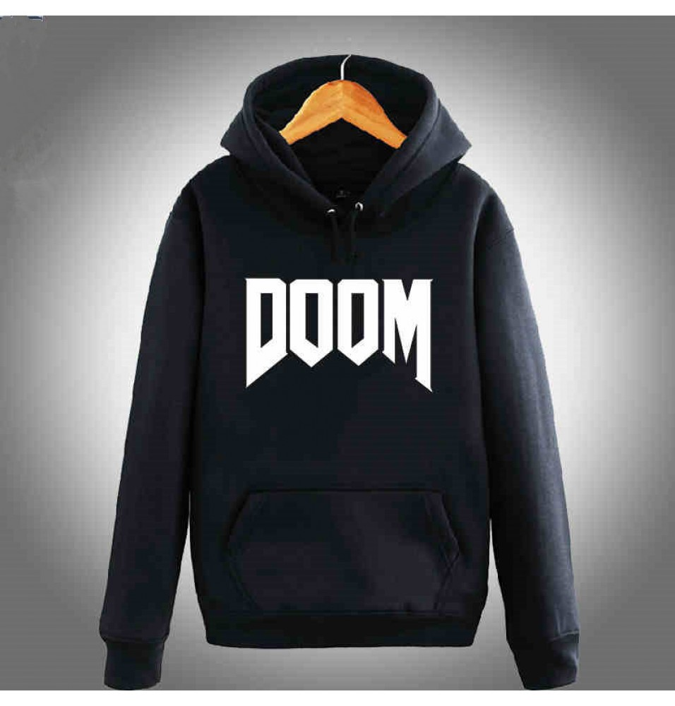 TimeCosplay Doom4 Logo Hoodies Sweatshirts