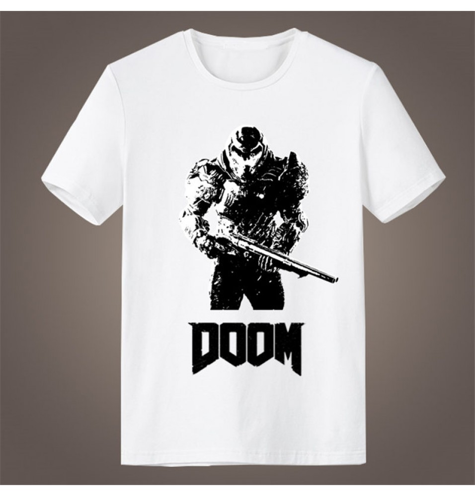 Timecosplay Doom Icon Short Sleeve T-Shirts