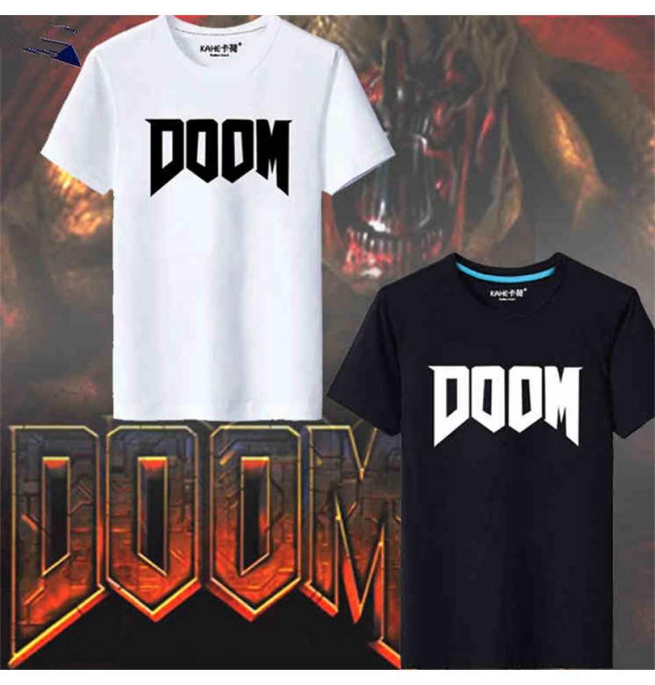 Timecosplay Doom iImage Short Sleeve T-Shirts