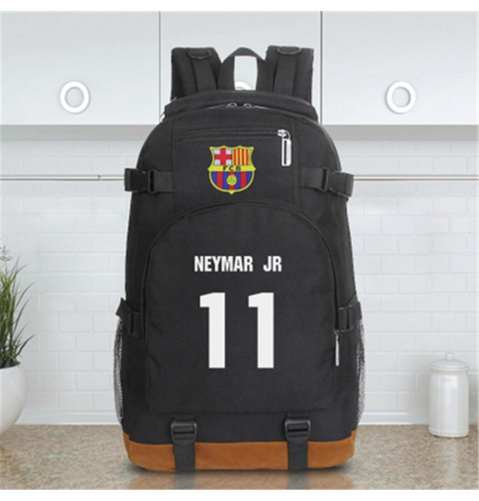 Timecosplay Fútbol Club Barcelona Neymar Icon Football Backpack School Bag