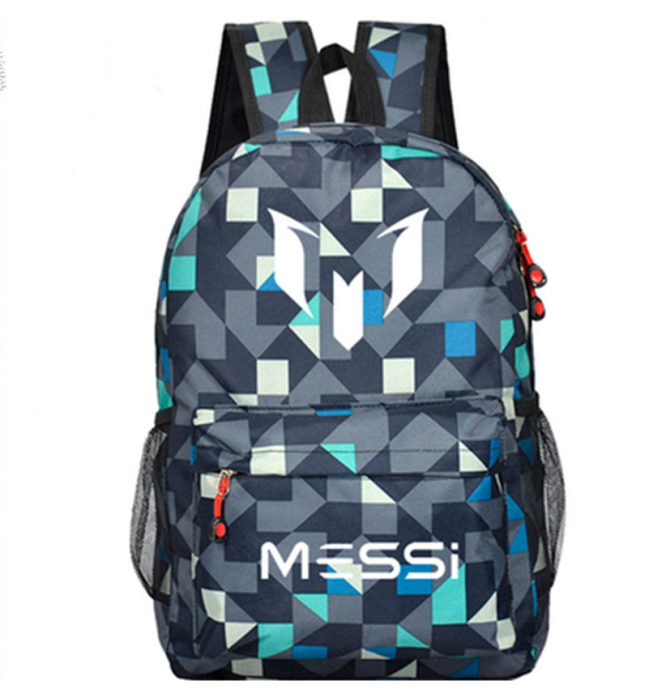 Timecosplay FC Barcelona Messi lattice School bag Backpack