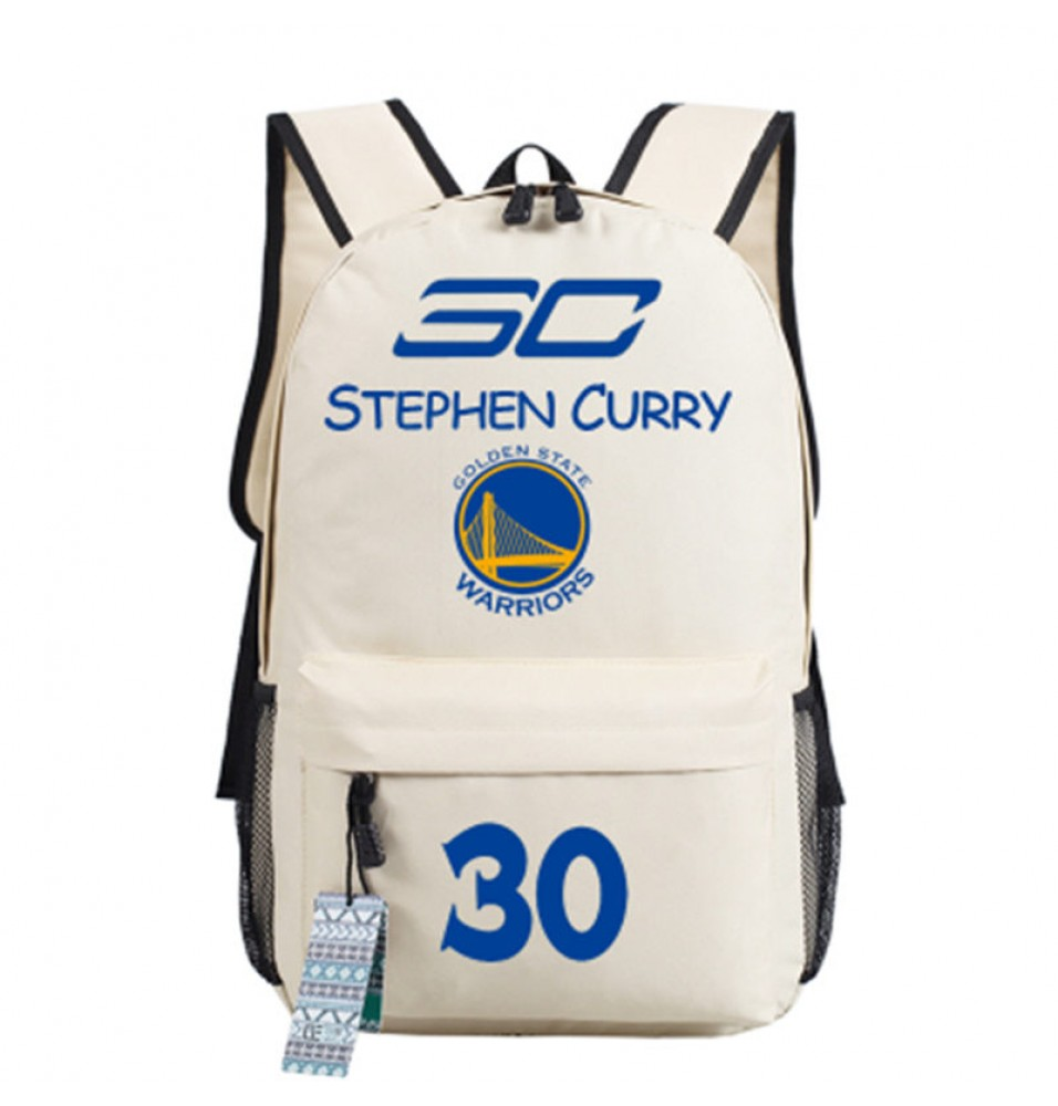 Timecosplay Golden State Warriors Team 30 Stephen Curry Shoulders Bag Schoolbag