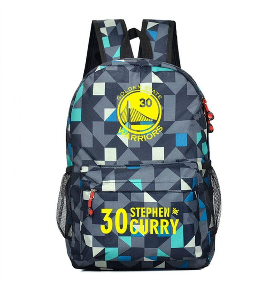Timecosplay Golden State Warriors Team Stephen Curry 30 Shoulders Bag Schoolbag