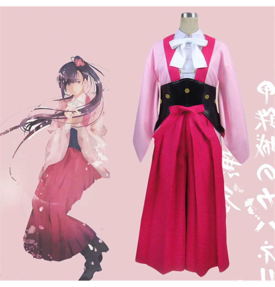 Timecosplay Kabaneri of the Iron Fortress Ayame Cosplay Halloween Dress Costume