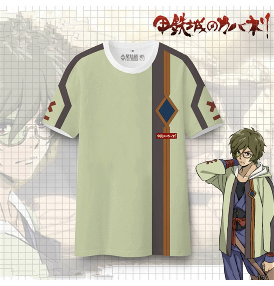 Timecosplay Kabaneri Of The Iron Fortress Ikoma Cosplay Tee Shirt