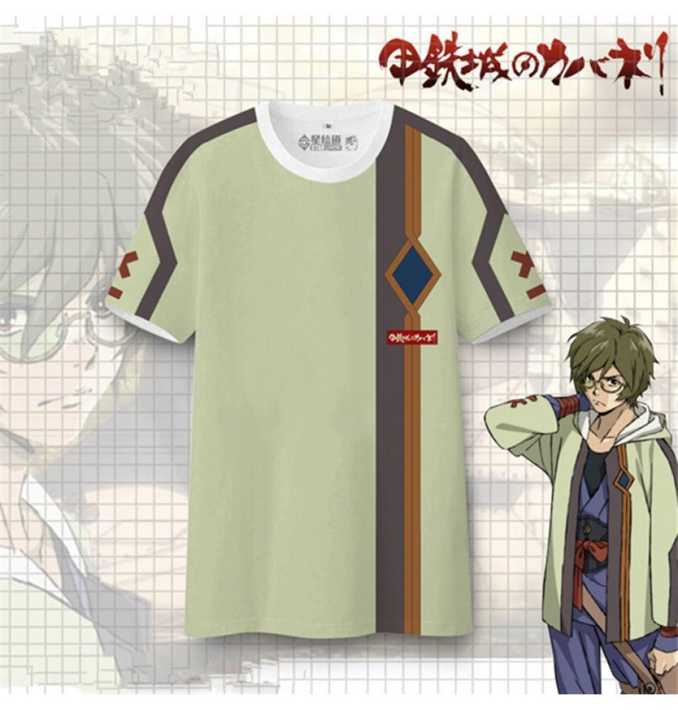 Timecosplay Kabaneri Of The Iron Fortress Ikoma Cosplay Tee Shirt