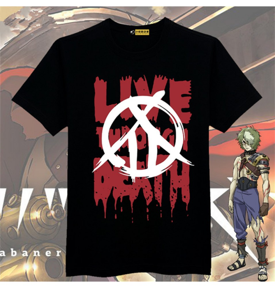 Timecosplay Kabaneri Of The Iron Fortress Ikoma Logo Men Tee Shirt