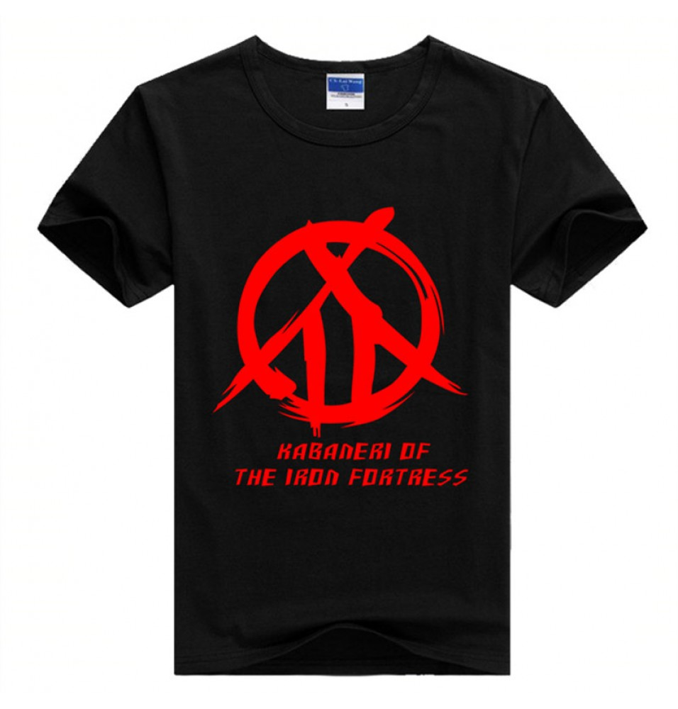 Timecosplay Kabaneri Of The Iron Fortress Ikoma Logo Tee Shirt
