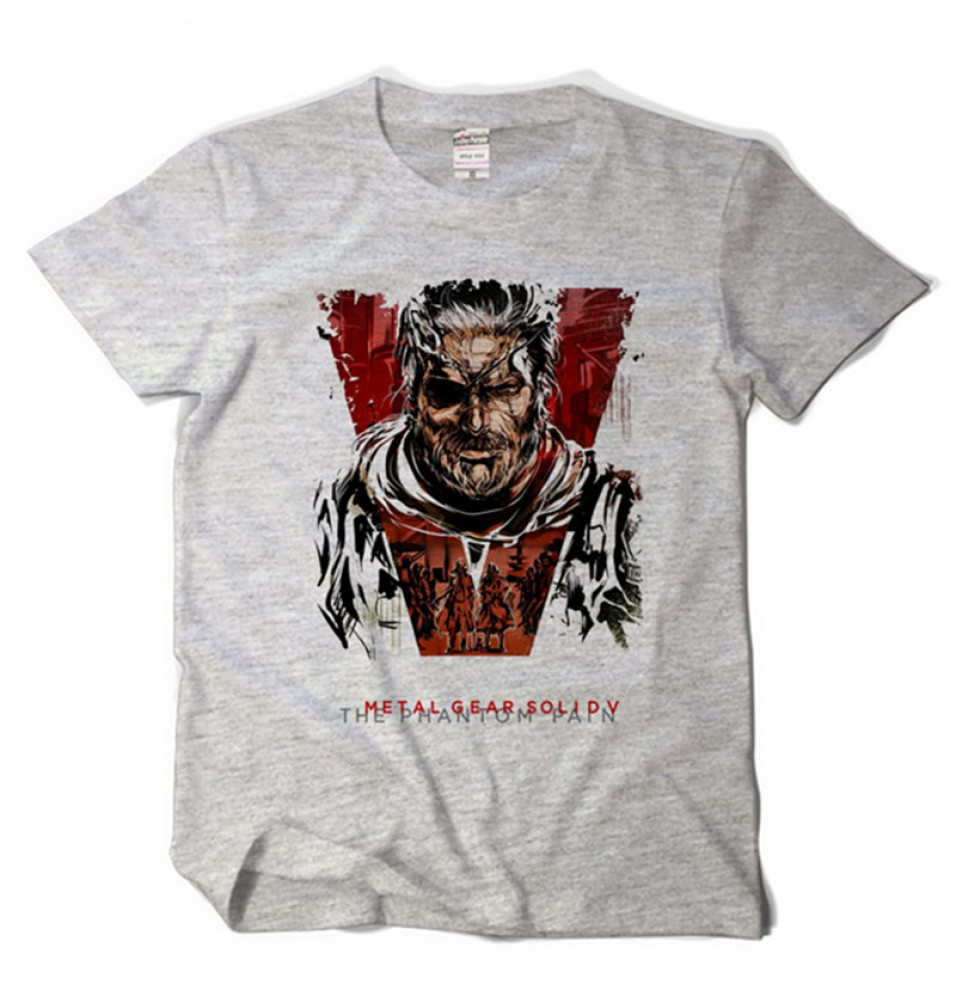 Timecosplay Metal Gear Solid  Metal Gear Solid Tee Shirts