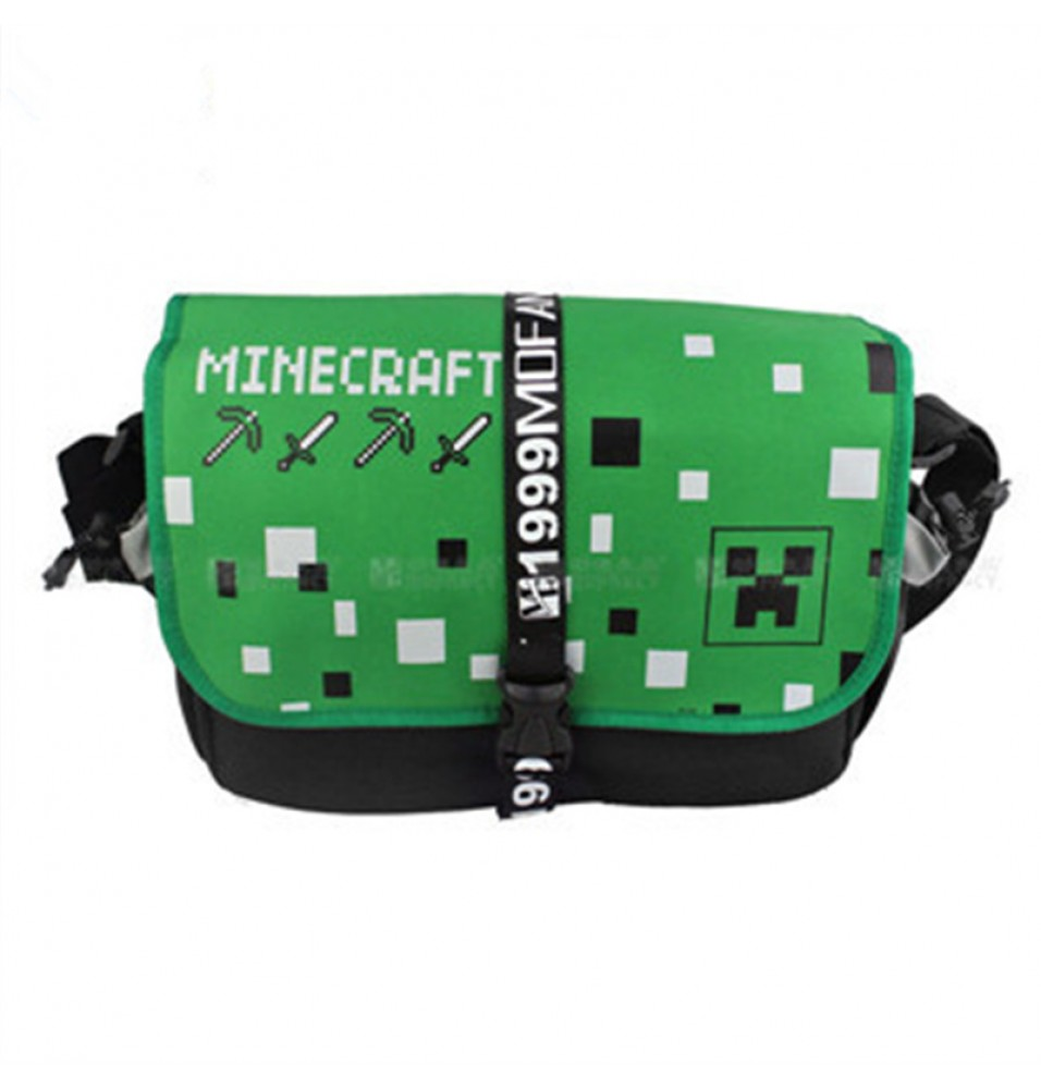 Timecosplay Minecraft Creeper JJ Cosplay Messenger Bag