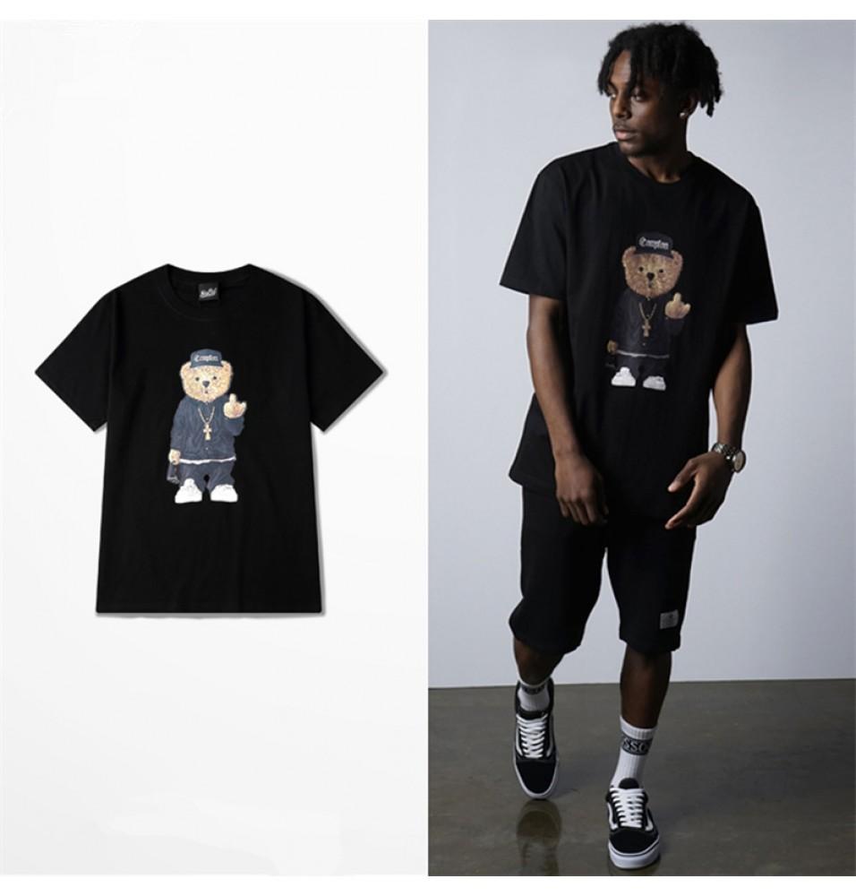 Timecosplay N.W.A Niggaz Wit Attitudes Straight Outta Compton Logo Tee Shirts