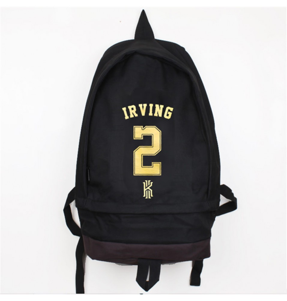 Cleveland Cavaliers Kyrie Irving Basketball Backpack School Bag
