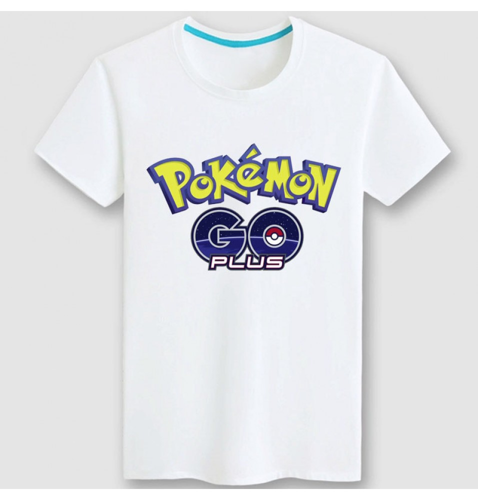 Timecosplay Pokemon Go Icon Men Tee Shirt