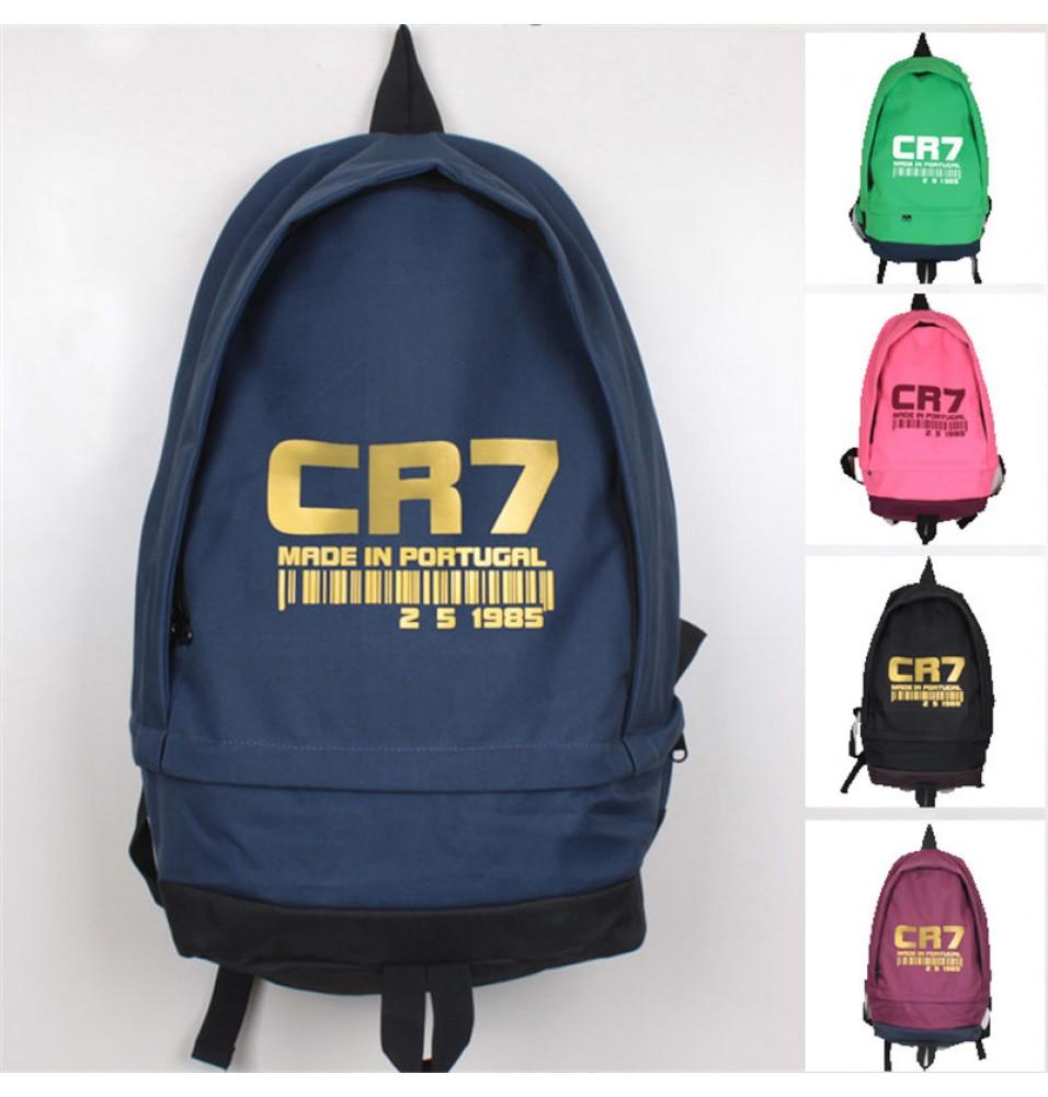 Timecosplay Real Madrid  Ronaldo CR7 School bag Backpack