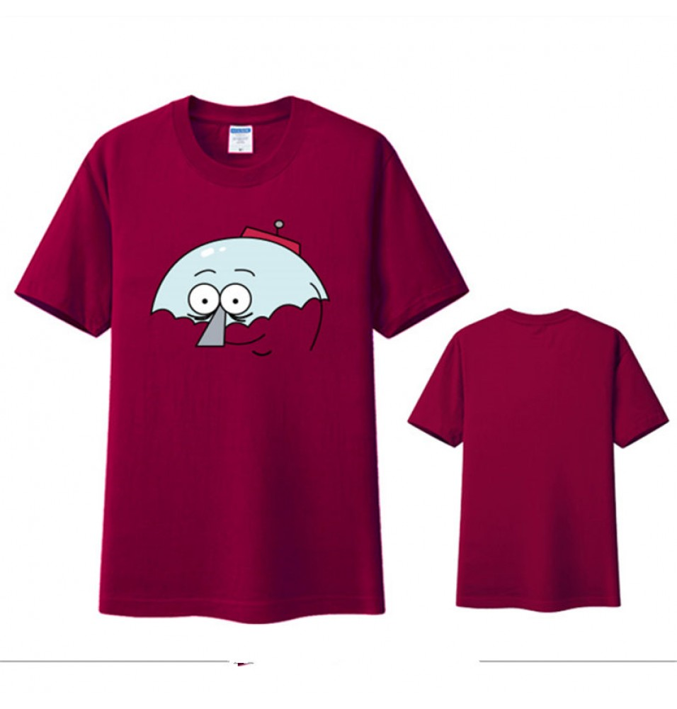 Timecosplay Regular Show Benson iImage Short Sleeve T-Shirts
