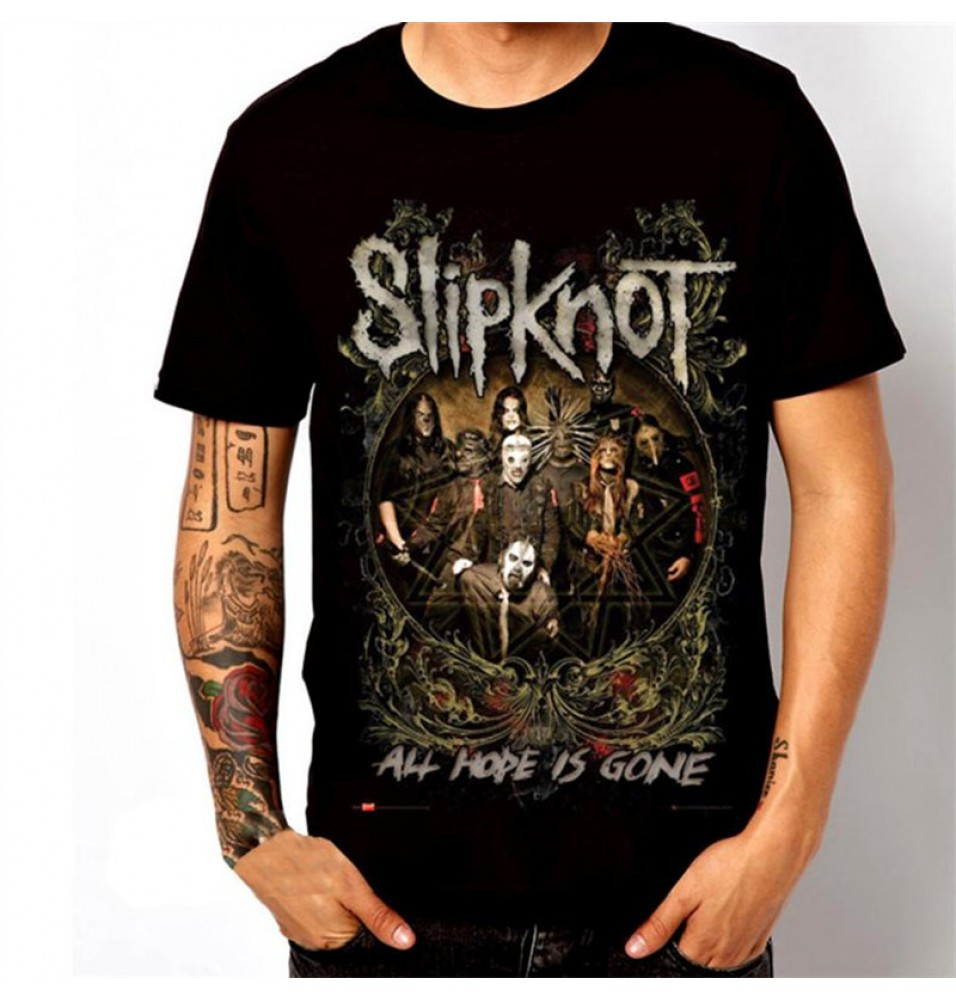 Timecosplay Slipknot Flames 3D T-Shirts