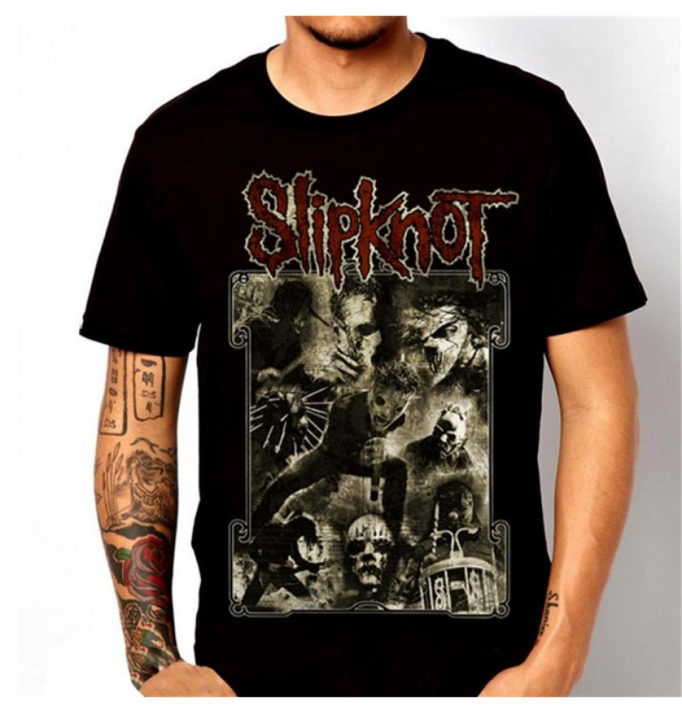 Timecosplay Slipknot Flames T-Shirts