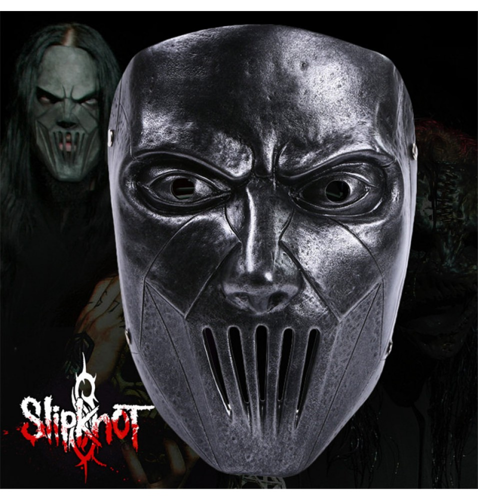 Timecosplay Slipknot Mick Thomson Resin Mask Halloween Cosplay