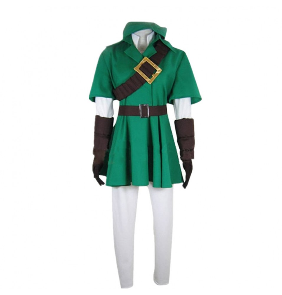 Timecosplay The Legend of Zelda Link Costume Unisex Halloween Cosplay