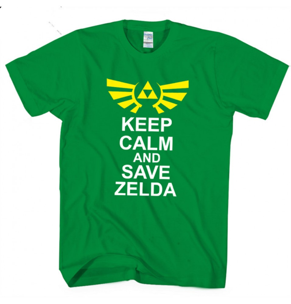 Timecosplay The Legend of Zelda Nintendo  Short Sleeve Game Tee Shirt