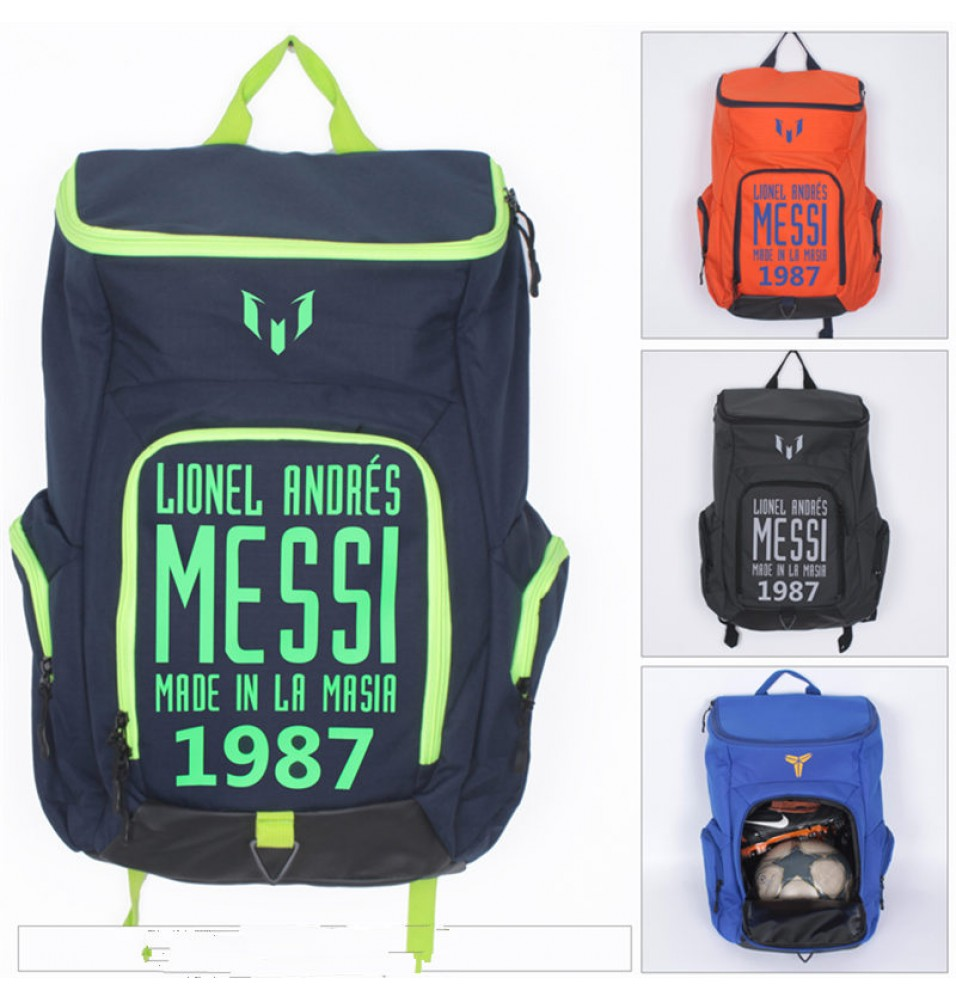 Timecosplay Timecosplay FC Barcelona 1987 Lionel Messi 10 School bag Backpack