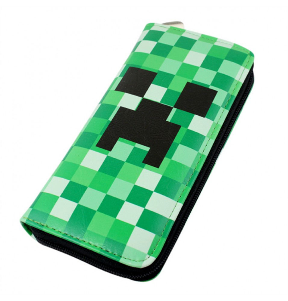Timecosplay Timecosplay Minecraft Creeper Money Clip Long Wallet