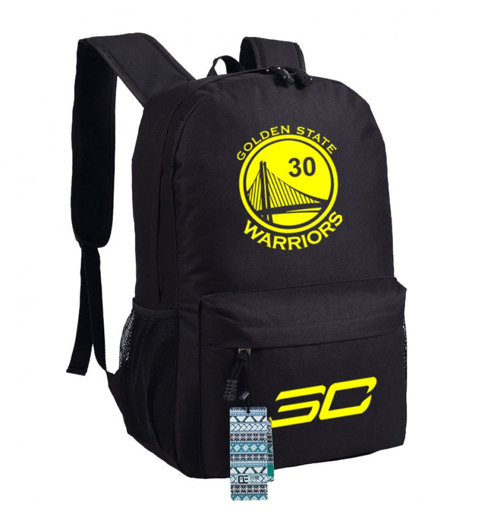 Timecosplay Warriors Stephen Curry 30 Shoulders Bag Schoolbag