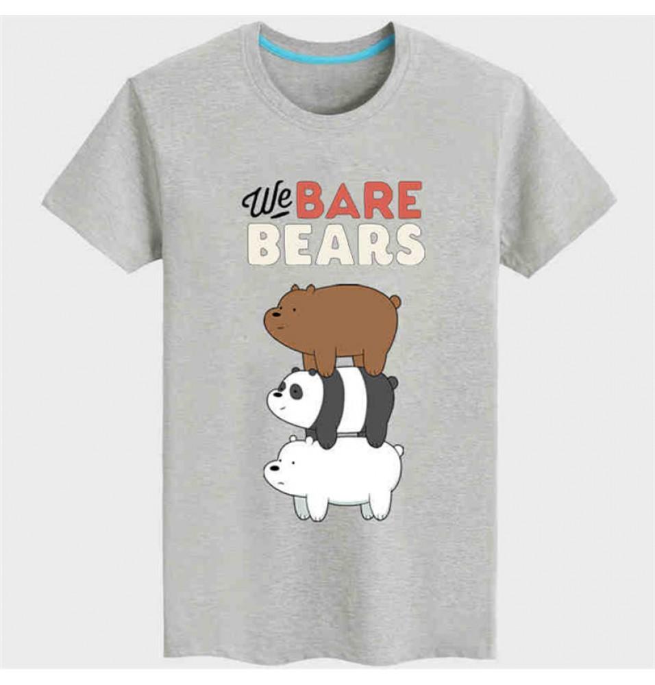 Timecosplay WBB We Bare BearsIce Short Sleeve Tee Shirts