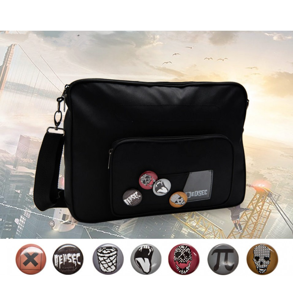 Watch Dog 2 Marcus Holloway Cosplay Crossbody Messenger Bag
