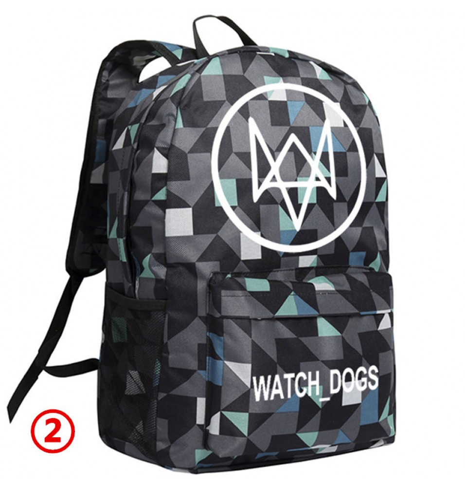 Watch Dogs Lattice Backpack Schoolbag