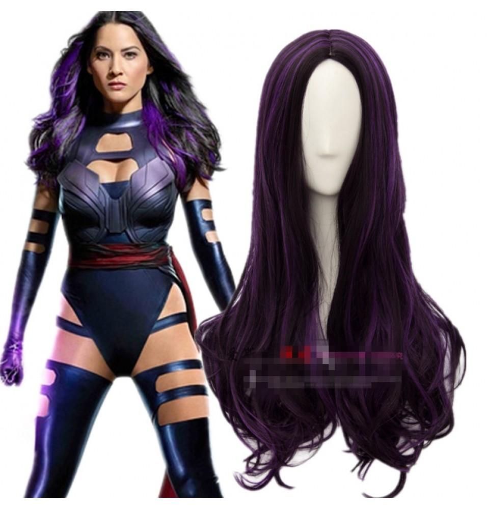 X-Men Apocalypse Psylocke Kwannon Cosplay Wigs