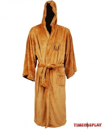 Star Wars Adult Jedi Fleece Bath Robe