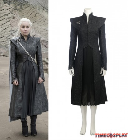 Game of Thrones 7 Daenerys Targaryen Costume Cosplay