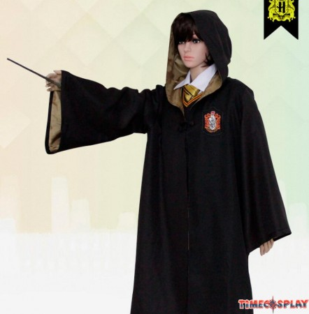 Harry Potter Hufflepuff School Robe