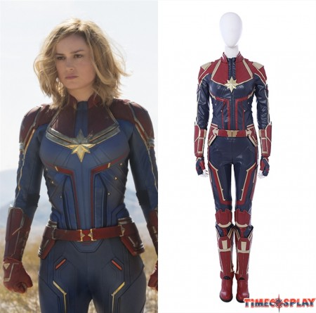 2019 Captain Marvel Costume Carol Danvers Cosplay Costume