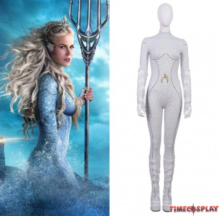 Movie Aquaman Atlanna Cosplay Costume