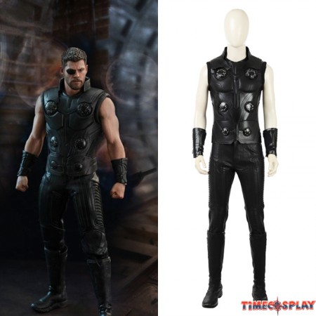 2018 Avengers Infinity War Thor Cosplay Costume Odinson Costume