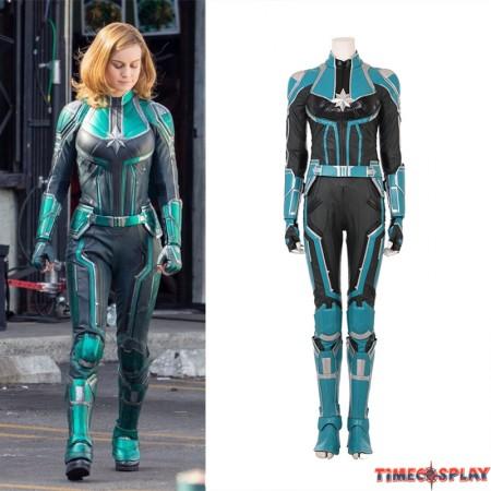 2019 Captain Marvel Cosplay Costume Carol Danvers Cosplay Costume