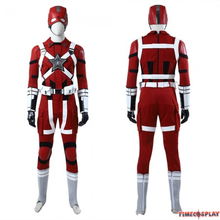2020 Movie Black Widow Red Guardian Cosplay Costume