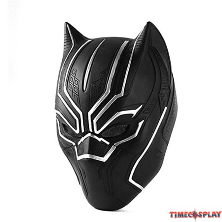 Civil War Black Panther Adult Latex Mask Full head Halloween Cosplay Helmet