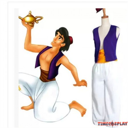 Animation Aladdin Prince  Halloween Party Costume Cosplay