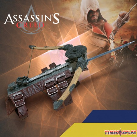 Assassin's Creed 5 Unity Stealth Phantom Blade Figure Hidden Blade Cosplay Prop