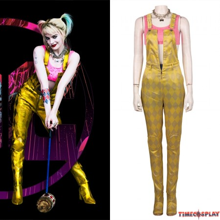 Birds of Prey Harley Quinn Cosplay Costumes Outfit