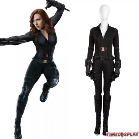 Civil War Black Widow Cosplay Costume Natasha Romanoff Costume