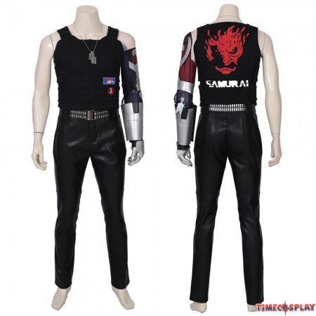 Cyberpunk 2077 Johnny Silverhand Cosplay Costume